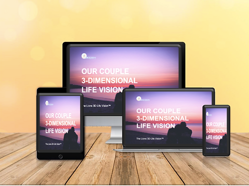 3D Life Vision Template for Couples - $3USD