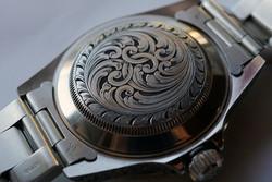 Rolex Submariner Watch Back