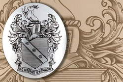 Heraldry Cigarette Case