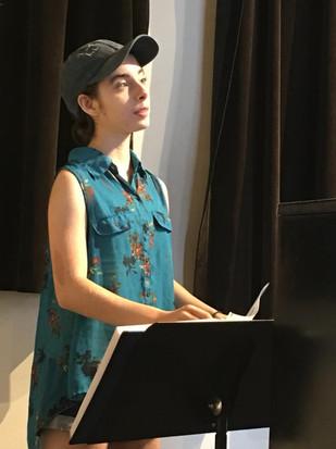 Sierra in Rehearsals