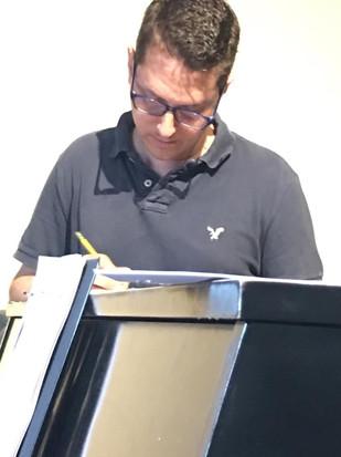 Matt in Rehearsal
