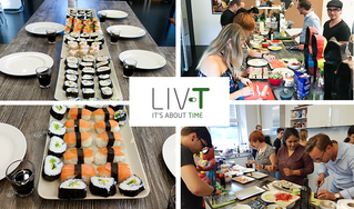 Sushi Night @LIV-T