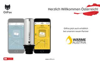 OilFox - neuer Partner in Österreich!