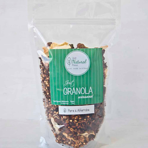 just GRANOLA Pera & Alfarroba - at home (400 g)