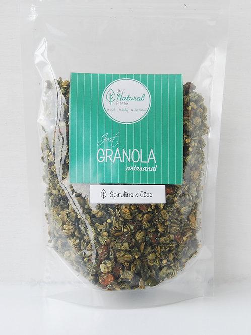 just GRANOLA Spirulina & Côco Gluten Free - 400 g
