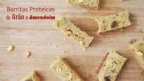 Barras Proteícas de Grão e Amendoim