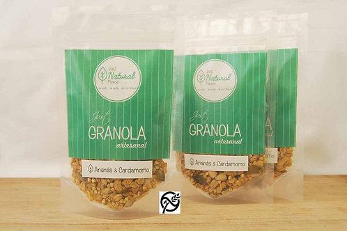 just GRANOLA Ananás & Cardamomo Gluten Free 3x80 g
