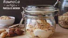 Rawnola de Figo e Manteiga de Amendoim