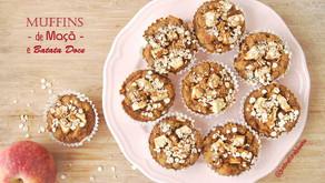 Muffins de Maçã e Batata Doce