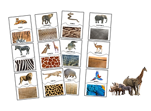 thumbnail puzzle animais selvagens padra