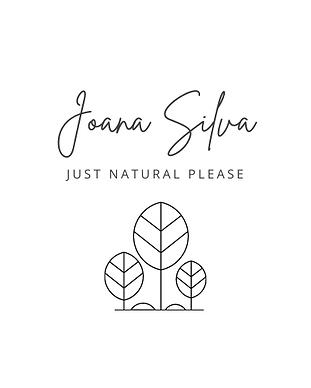 Logotipo Joana Silva JustNaturalPlease.p