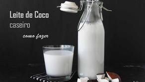 Leite de coco caseiro - como fazer