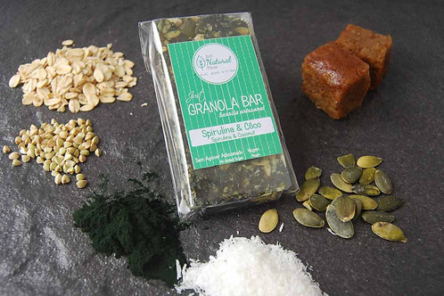 Just GRANOLA Bar - Spirulina & Côco
