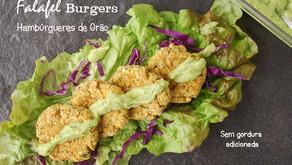Falafel Burgers (Hambúrgueres de Grão)