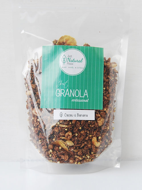 just GRANOLA Cacau & Banana - at home (400 g)