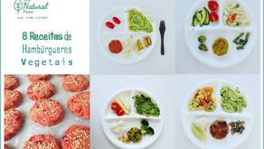 8 Receitas de Hambúrgueres Vegetais