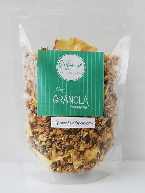 just GRANOLA Ananás & Cardamomo - at home (400 g)