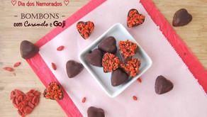 Especial Dia dos Namorados: Bombons com Caramelo e Goji