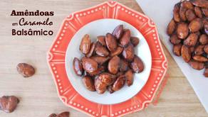 Amêndoas em Caramelo Balsâmico