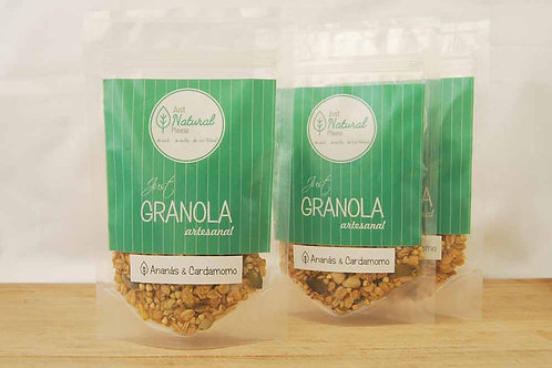 just GRANOLA Ananás & Cardamomo - to go (3 x 80 g)