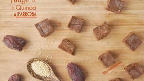 Fudge de Quinoa e Alfarroba
