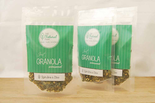 just GRANOLA Spirulina & Coco - to go (3 x 80 g)