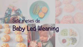 Sete meses de Baby Led Weaning