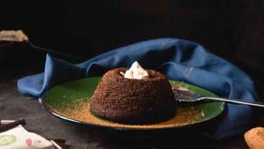 Petit Gâteau de alfarroba (com chocolate de Alfarroba da Casa do Bosque)