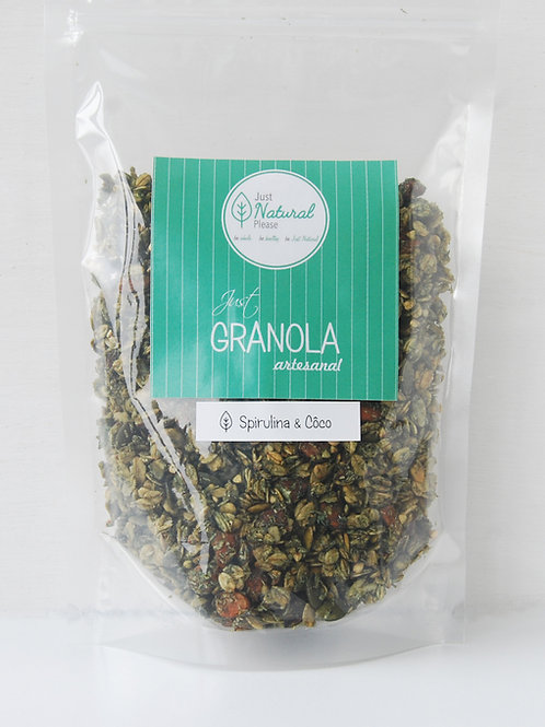 just GRANOLA Spirulina & Coco - at home (400 g)