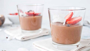 Mousse de chocolate (vegan, sem abacate e sem aquafaba