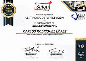 Certificado de Belleza Integral