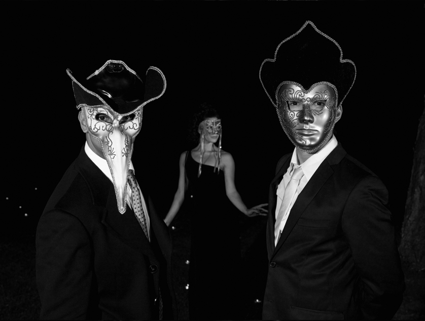 Masked Men B&W