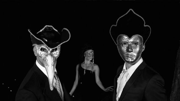 Masked Men B&W