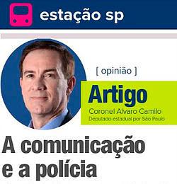 A comunicação e a polícia