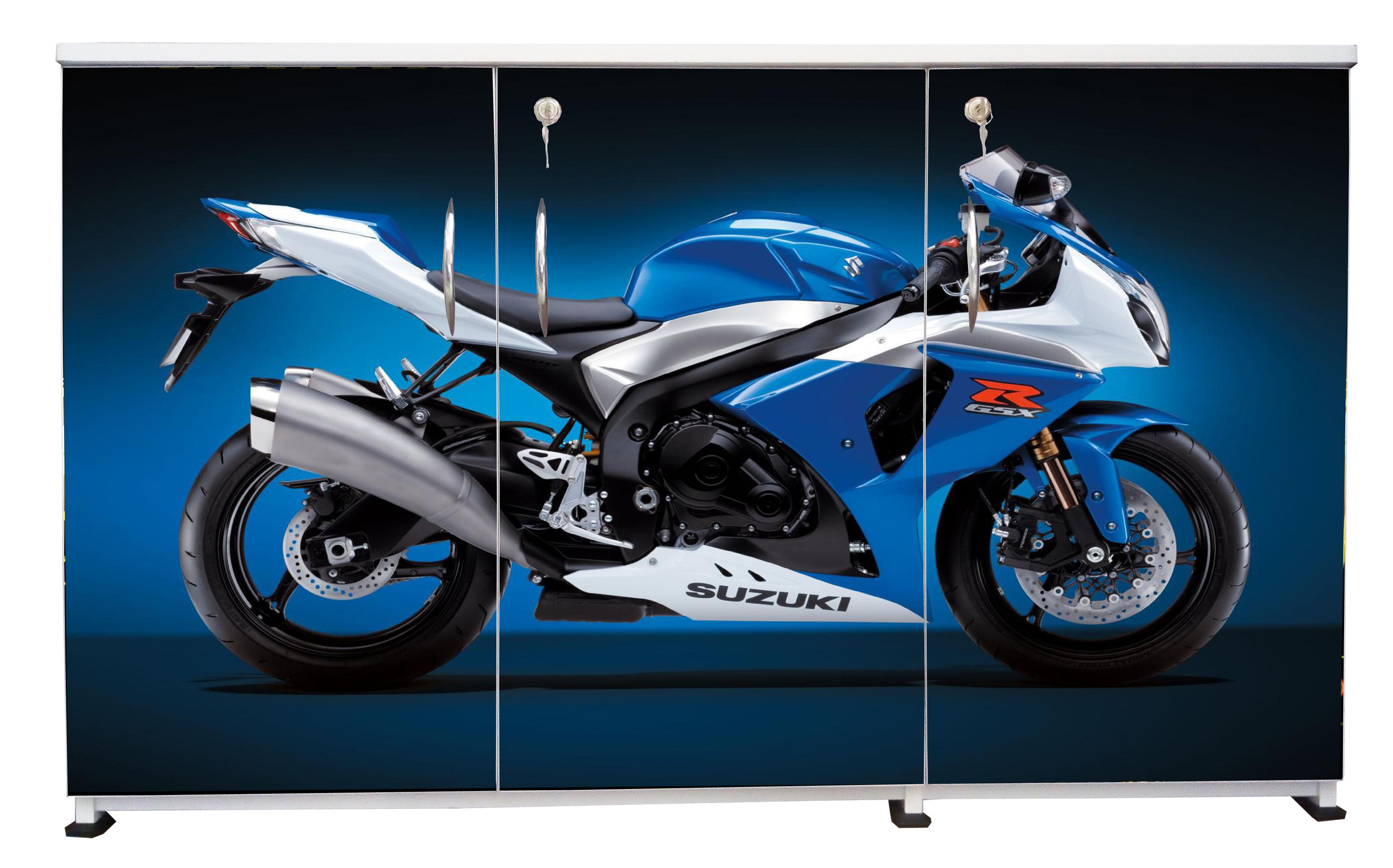 BS-3DS-09 - Blue Bike-A