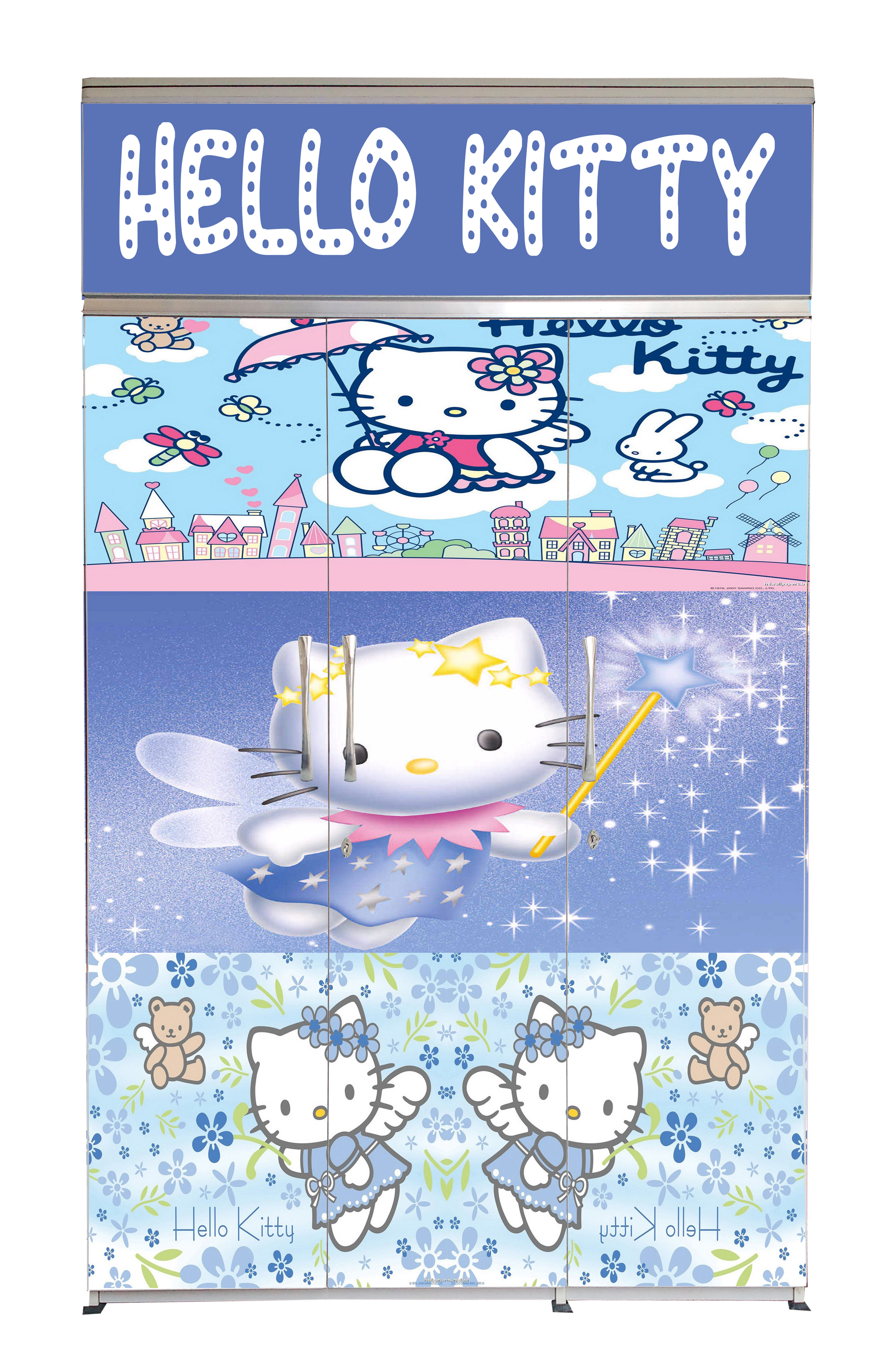 3D-Hello Kitty-2-Front