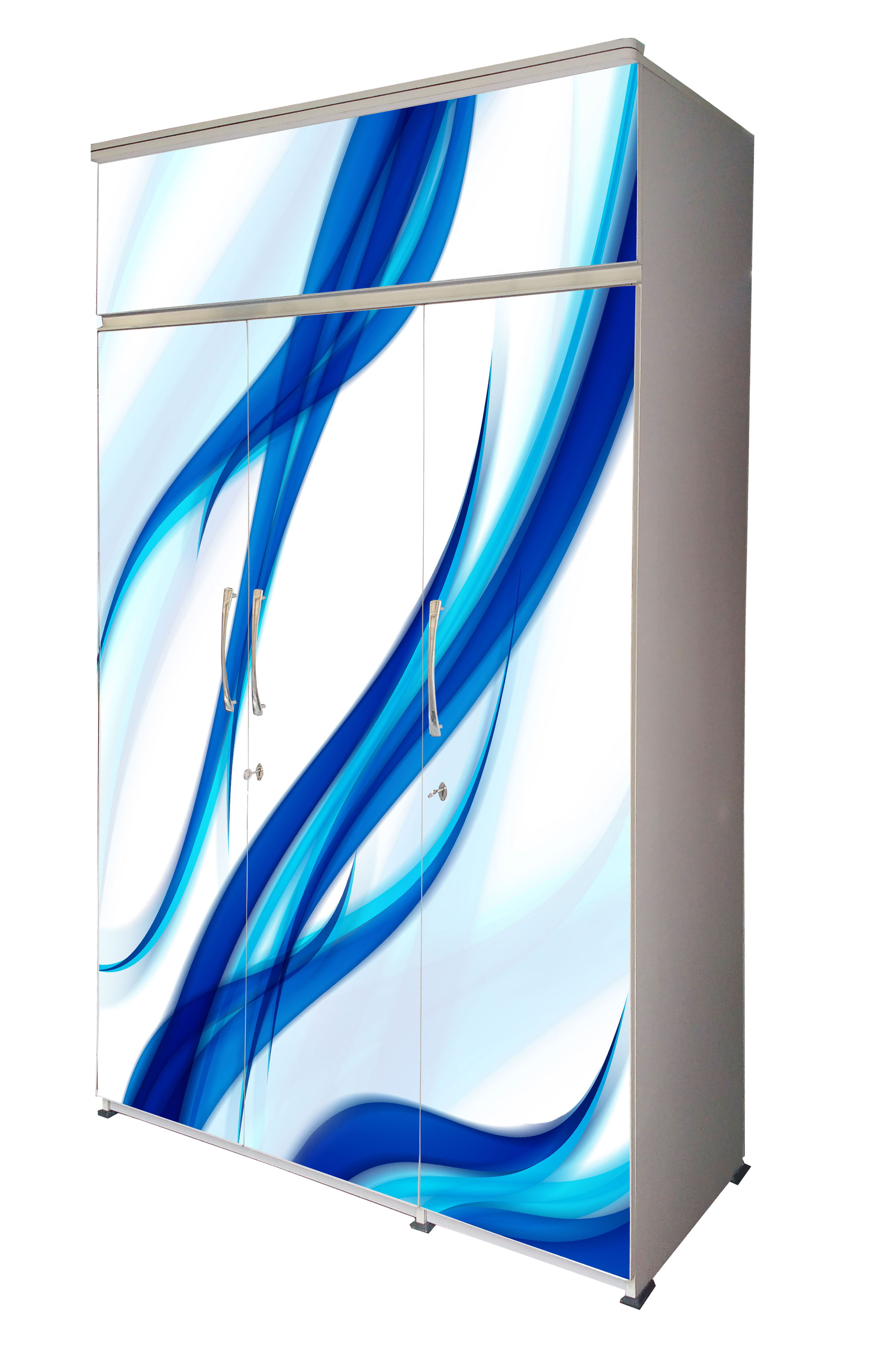 BS-3D-01-Blue Curves-A