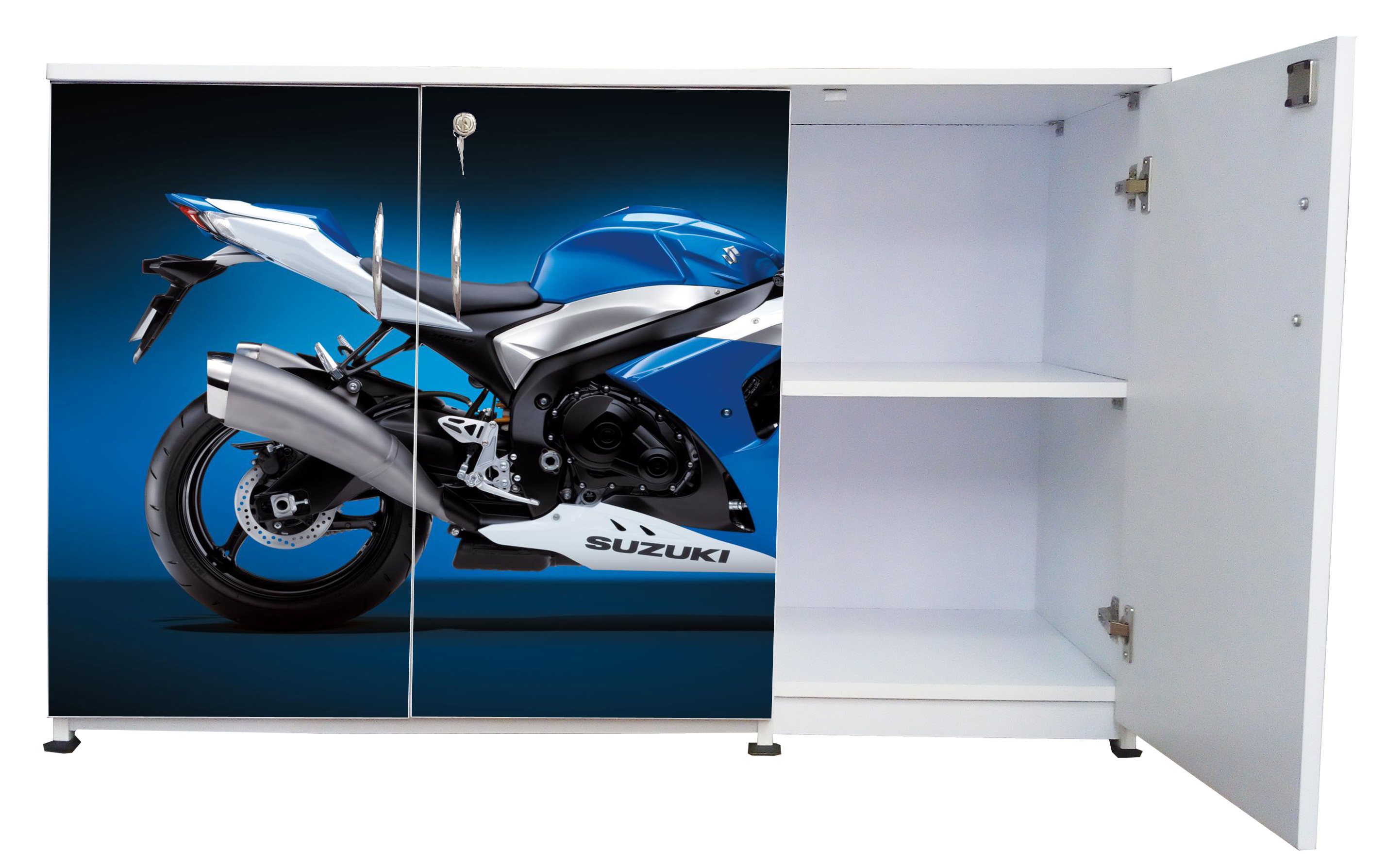 BS-3DS-09 - Blue Bike-B