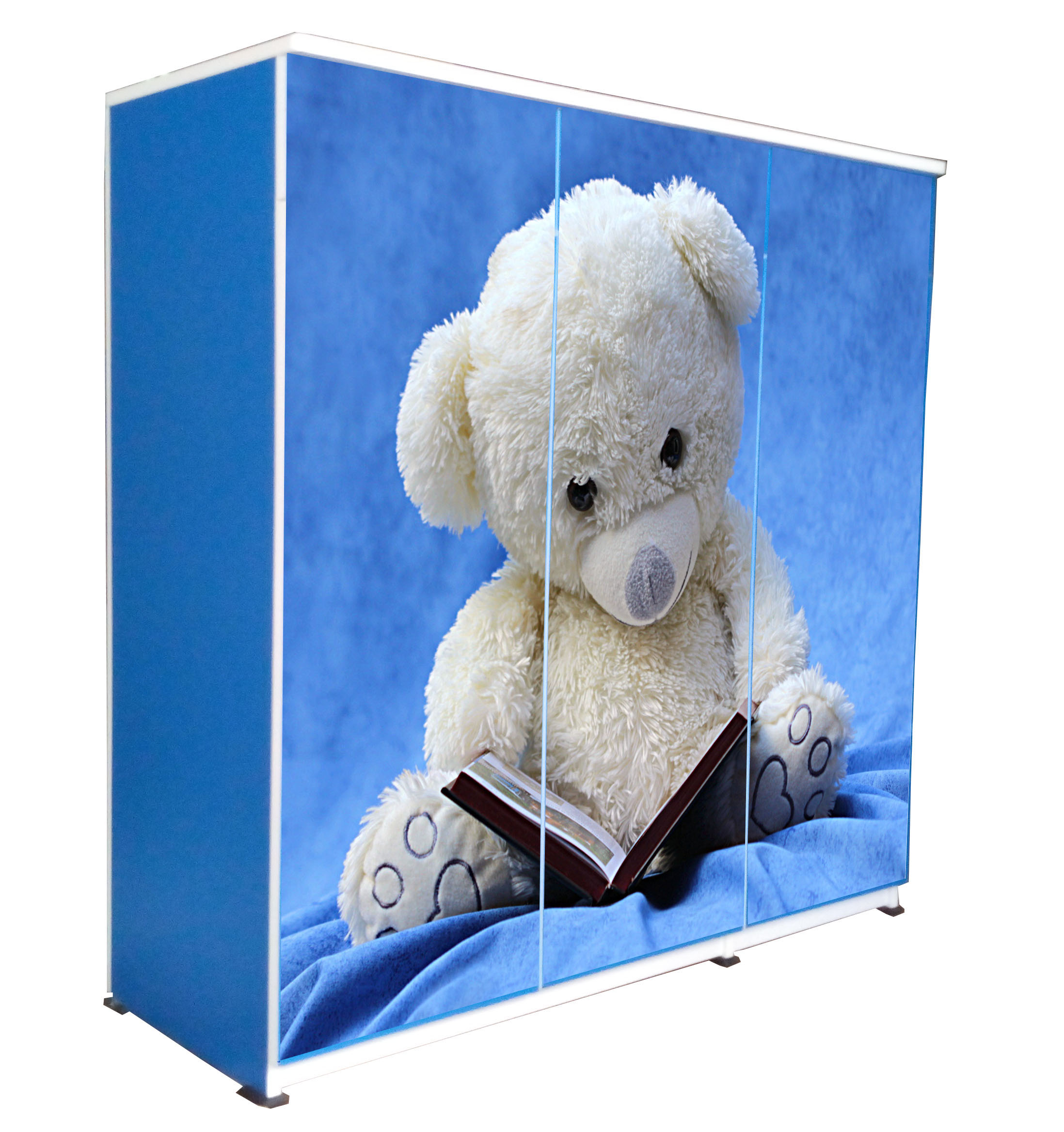 3D-Blue- Teddy