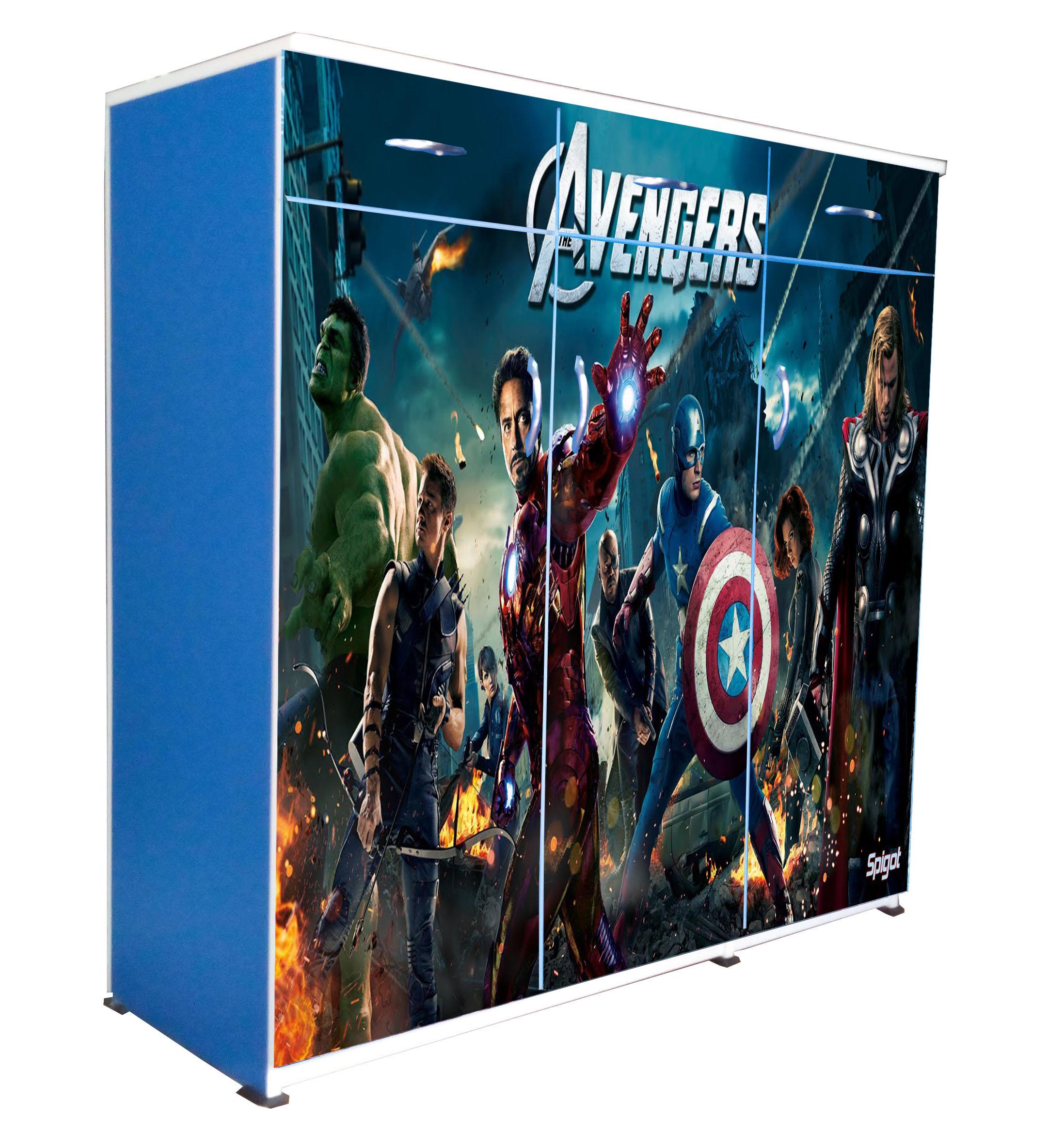 3D-Blue- Avengers