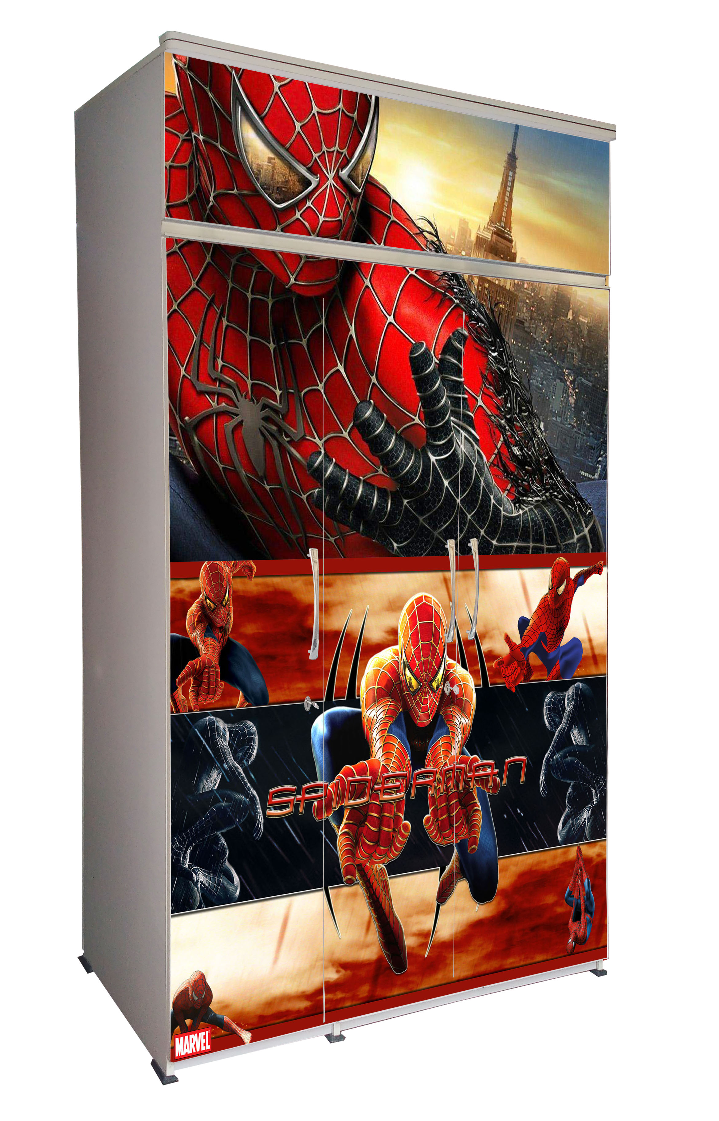3D-Spiderman-Side