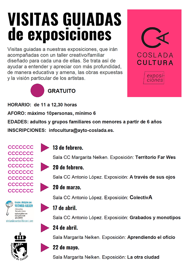 visitas guiadas-exposiciones- 2021-cosla