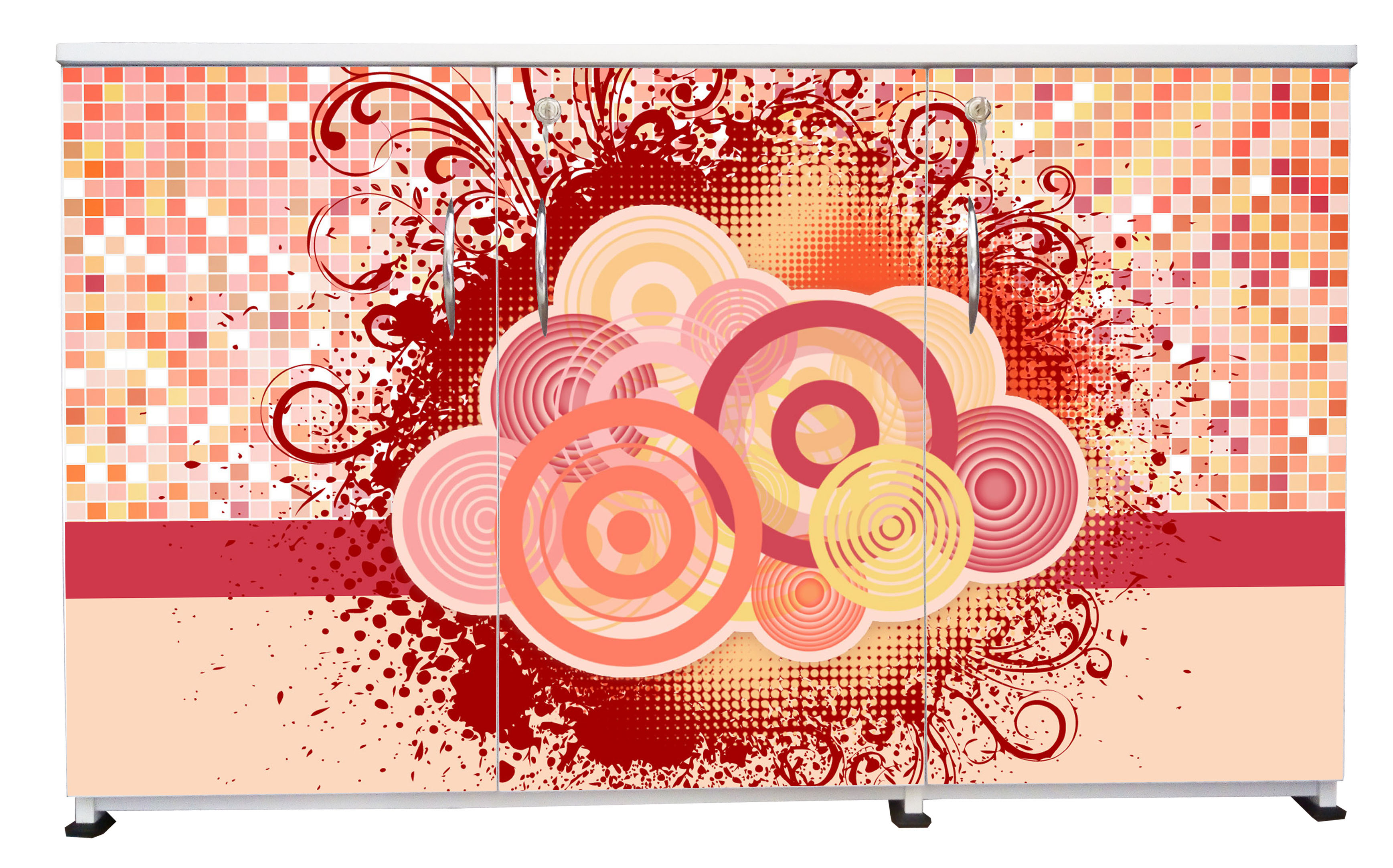BS-3DS-28 - PinkfulCircles-A