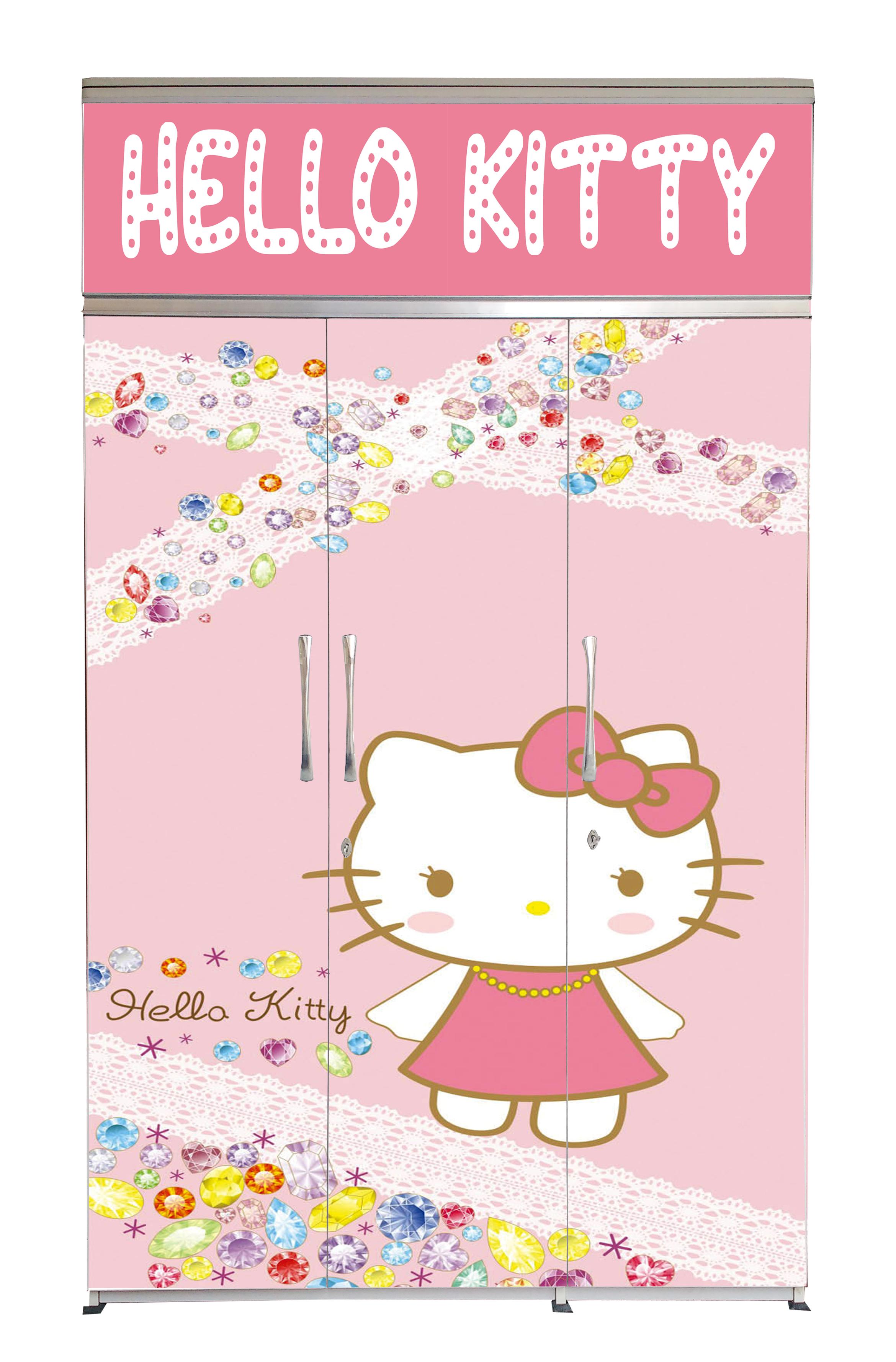 3D-Hello Kitty-1-Front