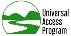 universal access program logo