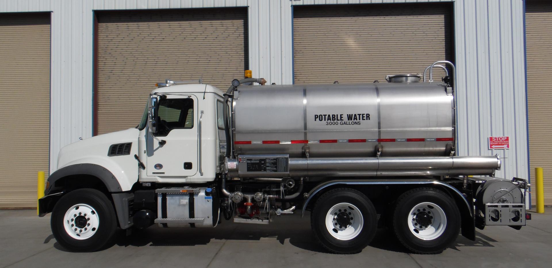 Potable Water Truck, USN Pearl Harbor