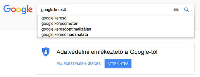 Google találati lista helyezés: 2020 főműsoridős reklámja