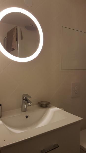 Les Chambres du Haut-Koenigsbourg Salle de bain avec douche italienne