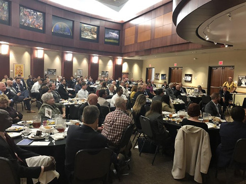 A capacity crowd attended the TRUST Transportation Innovation Forum at the Oklahoma History Center.