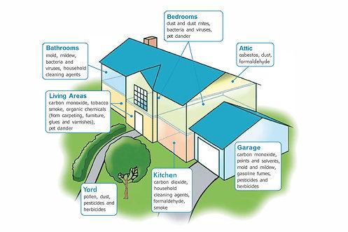 AirAdvice-IAQ Home Contamination Graphic